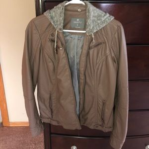 Vanity Moto jackets w/ removable hood